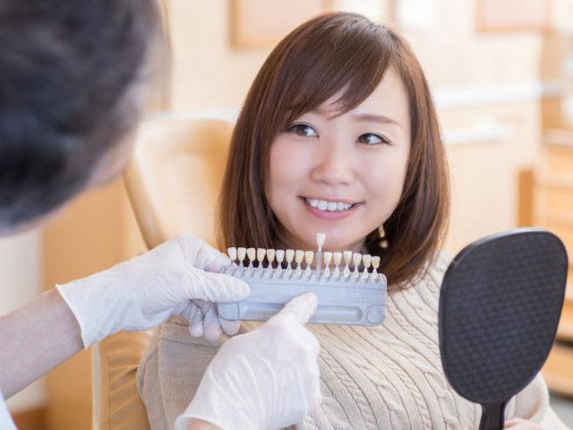 保険の歯で白い歯を入れたいのですが、奥歯はどこまで出来ますか?費用は?